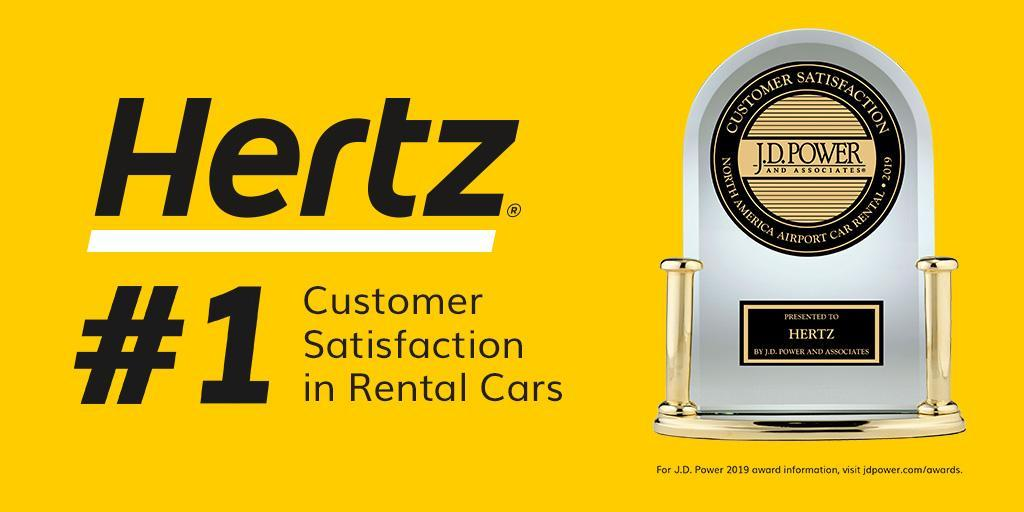 Congrats to our exclusive rental car partner, @Hertz, who was ranked #1 in Rental Car Customer Satisfaction by J.D. Power.  #AAADiscounts