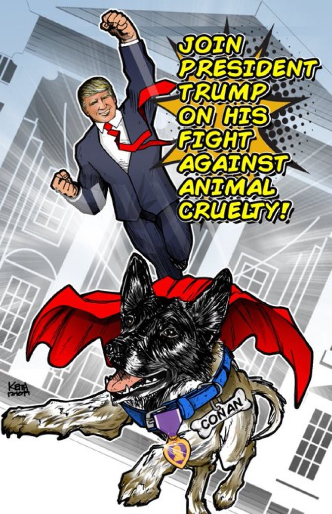 Fighting for all Americans, and animals too! @realDonaldTrump 🇺🇸🐶🐱