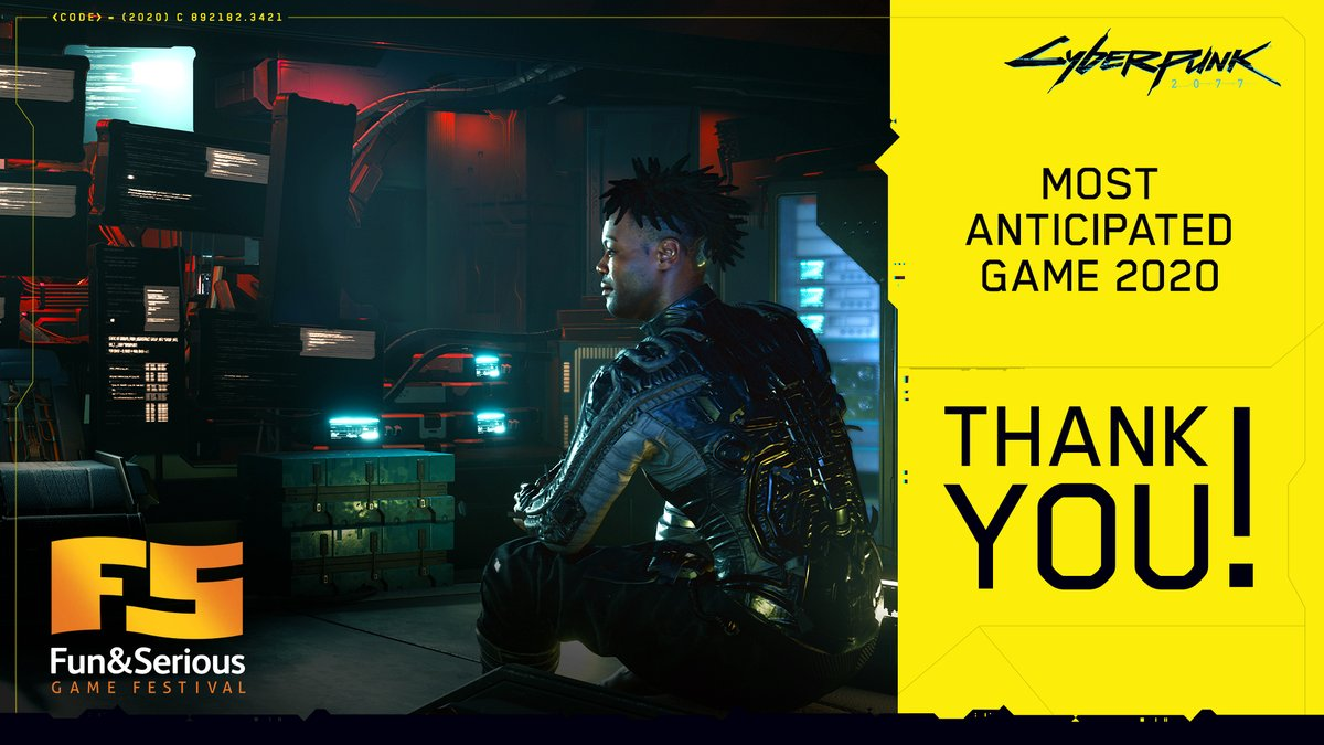 Games Awards 2020.Cyberpunk 2077 On Twitter Cyberpunk 2077 Was Voted The