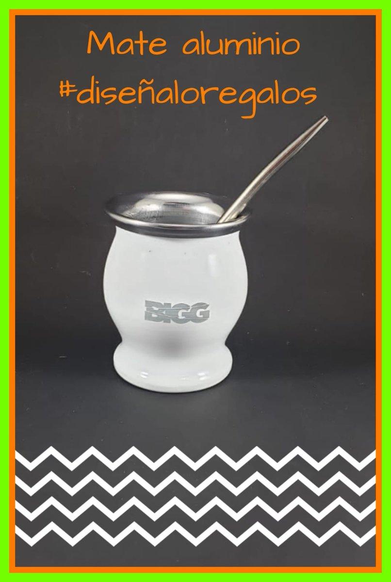 👍🍪 Mate de acero inoxidable personalizado con logo de tu empresa, grabado laser. #diseñalo #regalosquesorprenden #diseñaloregalos #mate #terere #tunombre #tulogo #personalizado #merchandising