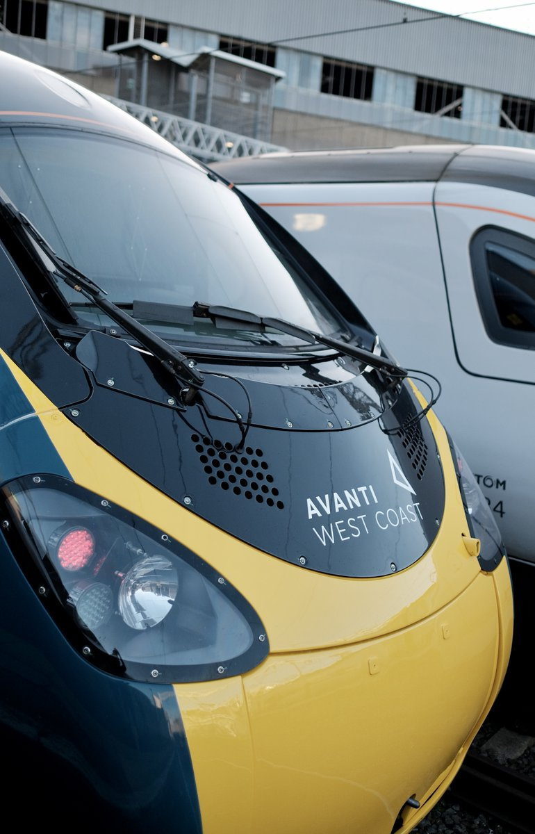 Have you spotted a newly liveried @AvantiWestCoast Pendolino on the railway yet?