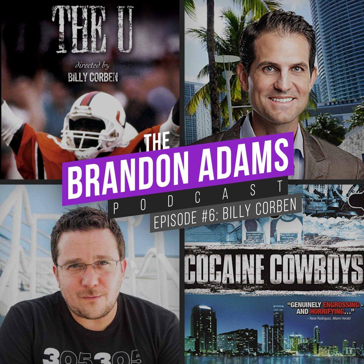 Podcast 6 with legend @BillyCorben is up! Enjoy! youtube.com/watch?v=DpRJg6…