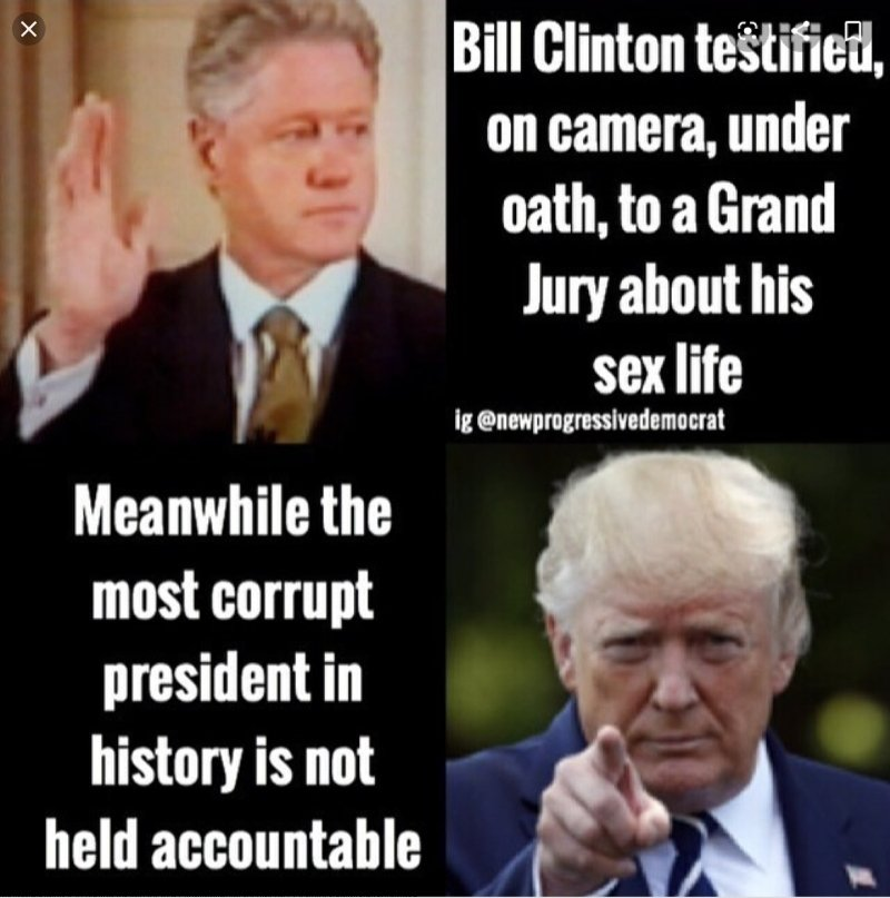 In 1998, during the Impeachment of Clinton, Lindsey Graham said high crimes doesnt even have to be a crime. Its just when you start using your office and youre acting in a way that hurts people. Yet, now he defends Trump. #GOPHypocrites #ImpeachAndConvictTrump