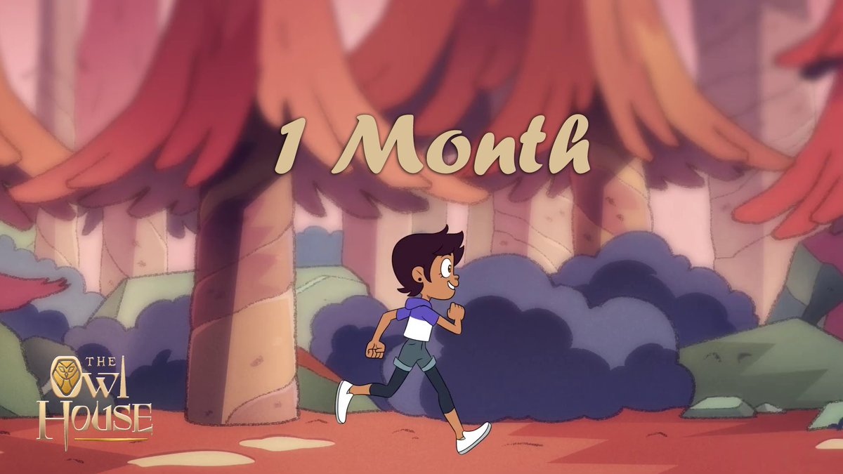 Exactly 1 month until the premiere of #TheOwlHouse!<br>http://pic.twitter.com/1lClpBgwbG