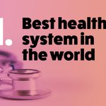 Image for the Tweet beginning: 🥇#1 healthcare in EU for