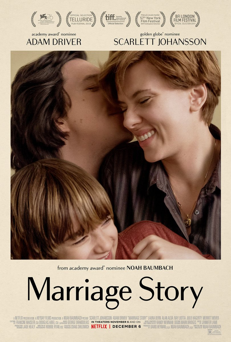 Watched this amazing film, review coming tomorrow!   #MovieReview #MarriageStory<br>http://pic.twitter.com/QJURhjwR4v