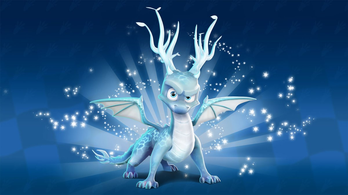An HD promo image of Winter Guardian #SpyroTheDragon from the latest character poster for the Winter Festival Grand Prix in #CrashTeamRacingNitroFueled! #Spyro