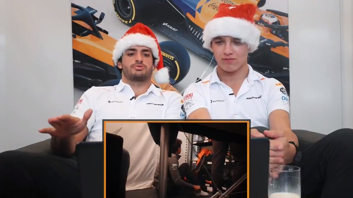 We asked @CarlosSainz55 and @LandoNorris to look back on the 2019 season through the magic of #McLarenUnboxed. This is #YouTubeRewind McLaren style.  Full video 📺➡️ https://t.co/mgrCaHMCl6