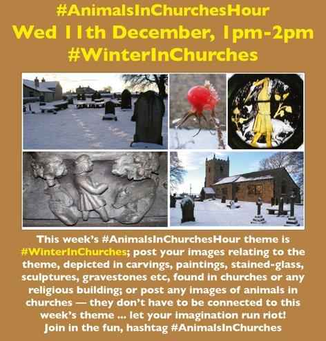 #AnimalsInChurches #WinterInChurches @johnevigar @pacoulmag @stiffleaf @MorleyRA @Wuzmi @sarahjigpoon @DEmiliopics @DrJACameron @last_of_england @ArtGuideAlex @Rach_Arnold @bwthornton @cotentinologue1 @DrFrancisYoung @Emma_J_Wells @FRH_Europe @Moodyarchive