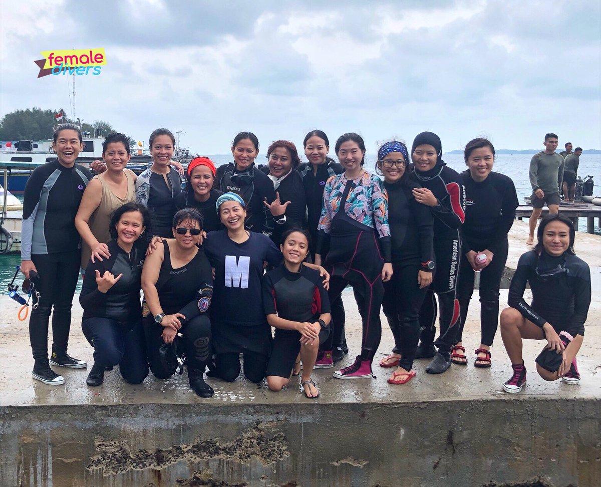 """Lestari Lautku"" Female Divers Event - 07 December 2019, Pulau Pramuka-Kepulauan Seribu.  #femaledivers #lestarilautku #indonesia #scubadiving #coraldefender #protectouroceans #divers #oceanambassador #divingindonesia #divetravel #scubaaddict #scubaworld #diving #KP3I #communitypic.twitter.com/oIx9R76mE1"