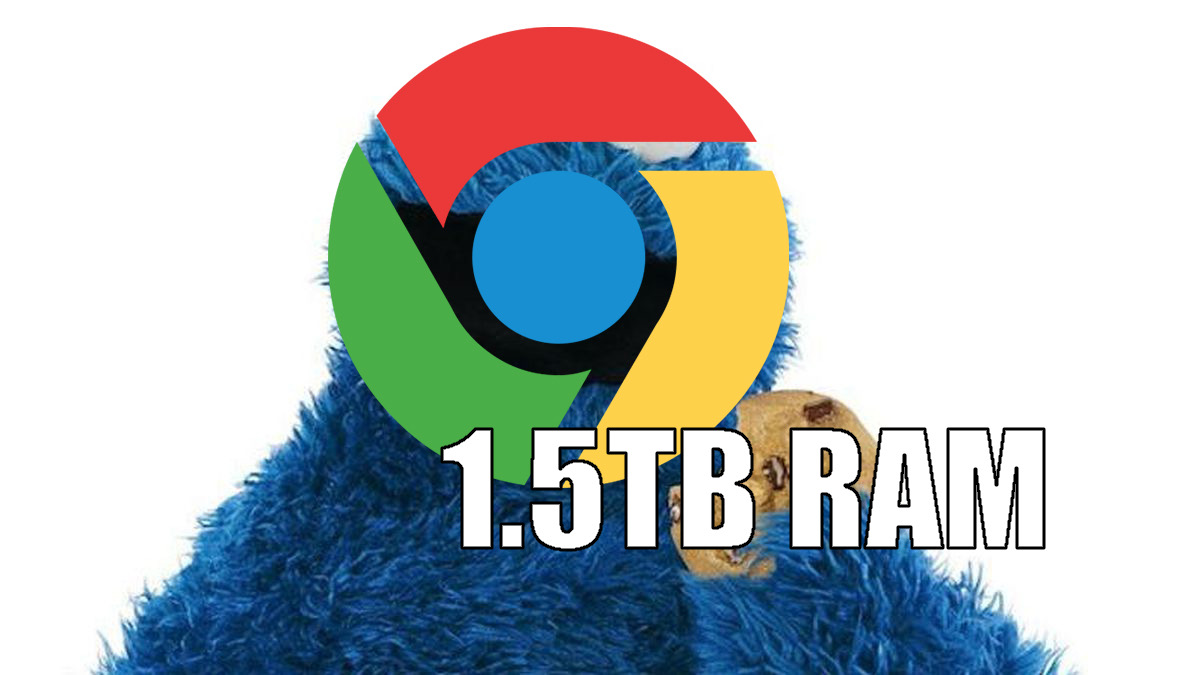 Image result for Apple Mac maxed out with over 6000 tabs of Chrome uses 1.4TB of RAM
