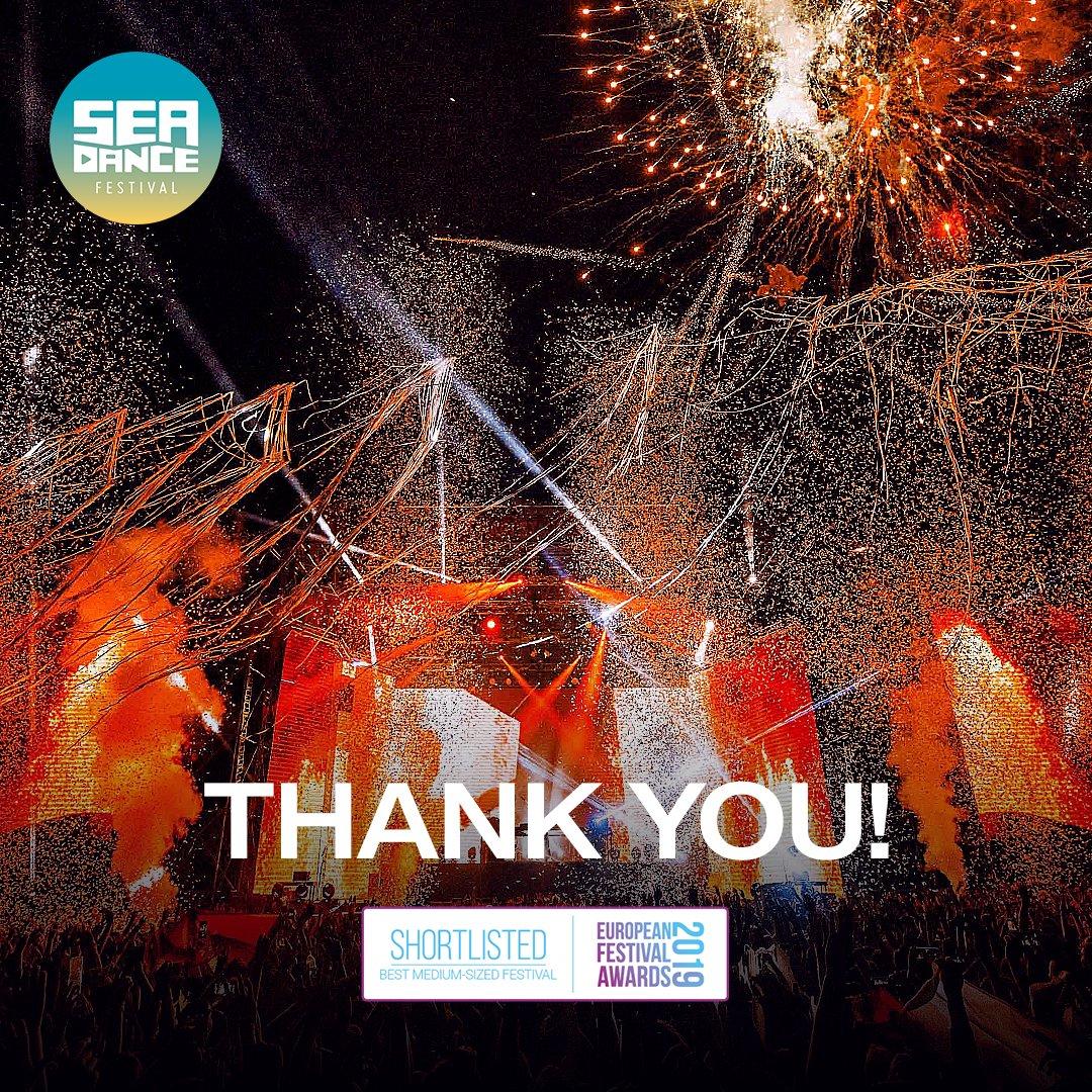 SEA DANCE ONCE AGAIN AMONG THE BEST! 💥💥💥  I šestu godinu #SeaDance je u finalu za @eufestawards  i titulu najboljeg festivala do 40.000 posjetilaca dnevno.💪💞  We made it together! Thank you all!🙌✨ https://t.co/pyLmGWdbRJ