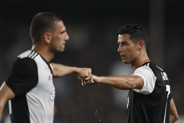 Demiral on CR7: Seeing that I spoke Portuguese with Cancelo, Ronaldo came to me and told me he was happy that I spoke Portuguese. Since then we have always spoken Portuguese. Hes a very warm person. Hes teaching me new Portuguese words.