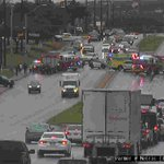 Image for the Tweet beginning: The crash at Parmer &