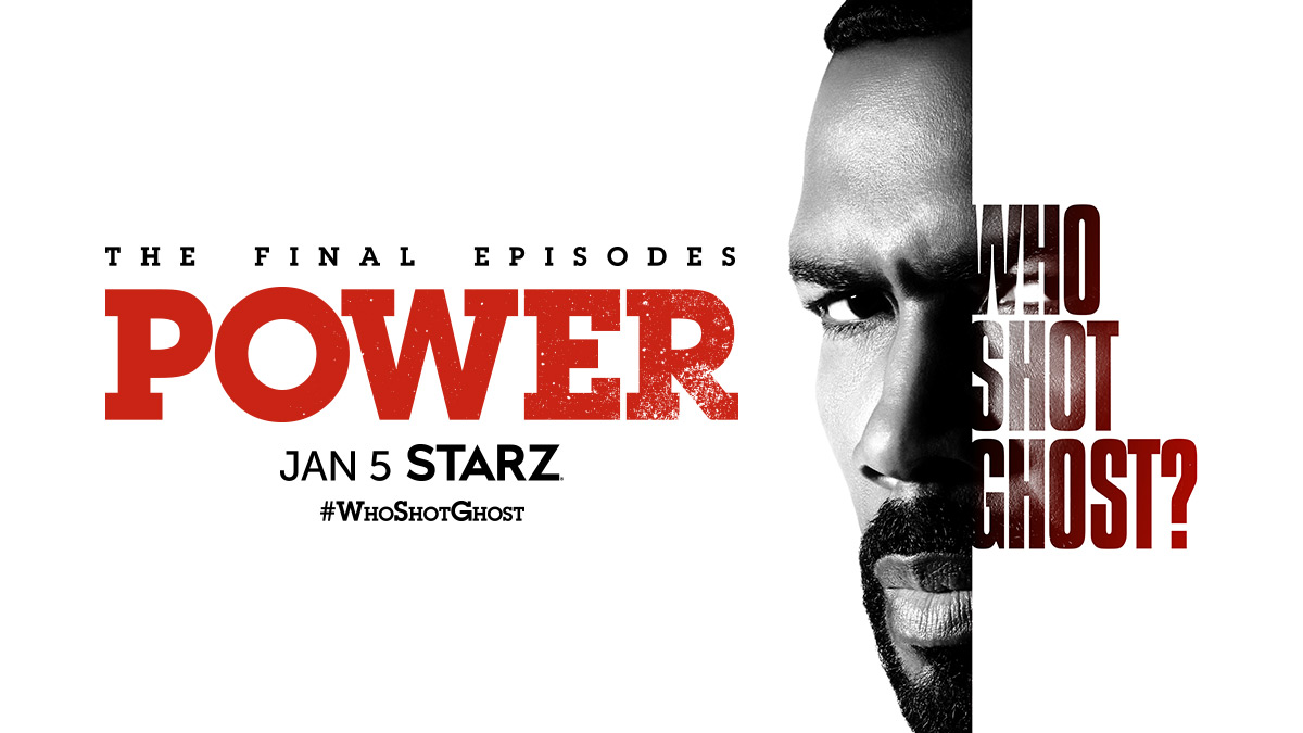 Where will the smoking gun lead? The final five episodes of #PowerTV start January 5 on @STARZ. #WhoShotGhost