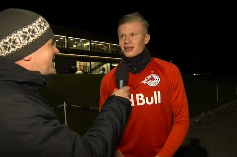 Journalist: Whats your prediction for tomorrow? Haaland: Yes. Love that mentality! #SALLIV