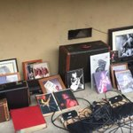 Image for the Tweet beginning: Stolen Randy Rhoads memorabilia found