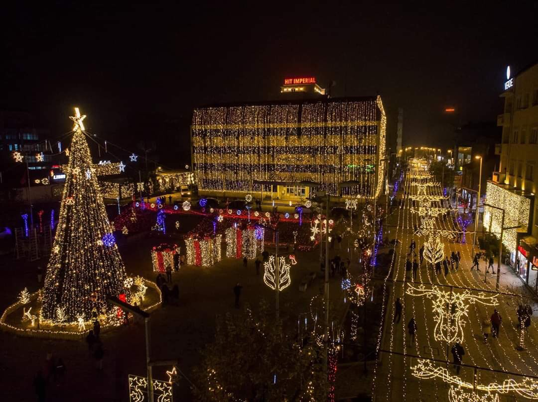 It's the most wonderful time of the year 📍 Ferizaj, Kosovo 🇽🇰