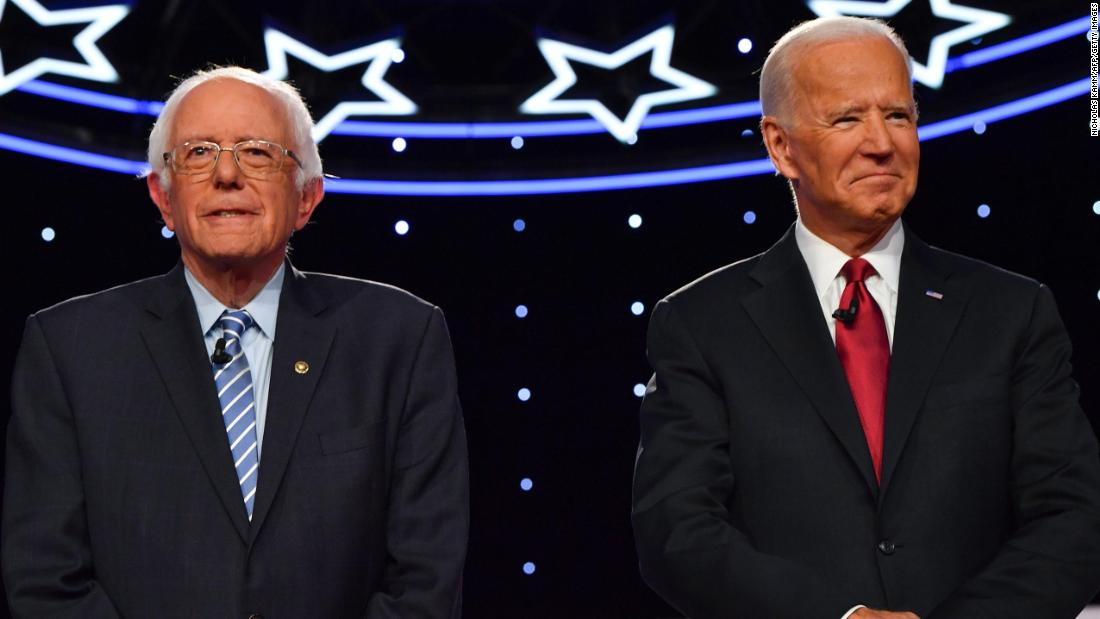 A new Monmouth University poll shows Joe Biden and Bernie Sanders leading the Democratic 2020 primary field with Elizabeth Warren in third place  https://cnn.it/2t57VEy