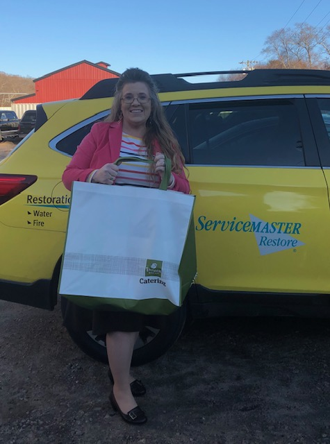 When ServiceMaster By Mason heard that Farmers Insurance Urgo Agency was collecting nonperishable food items to support the Pawcatuck Neighborhood Center, they were eager to help, delivering cereal, pasta & soup to help local residents in need. #endhunger #fooddrive #Connecticut