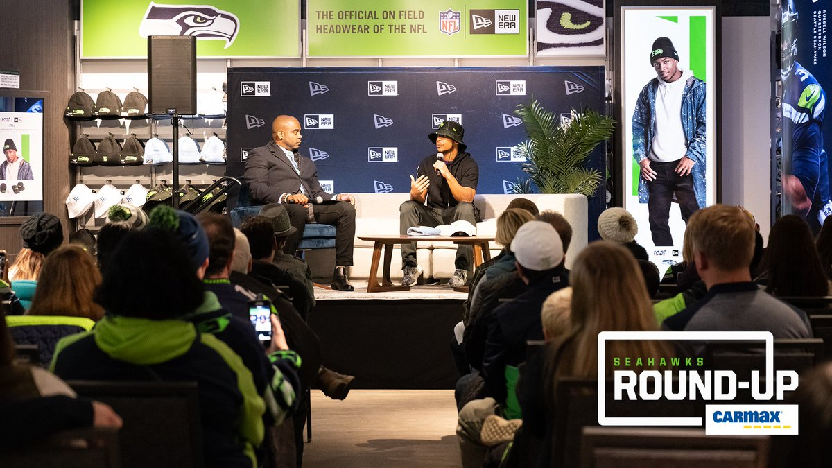 """What can't he do ⁉  @TDLockett12 worked with New Era to release a new line of hats, 12% of which will benefit his """"Light it Up"""" foundation.  » http://shwks.com/sfkmt"""