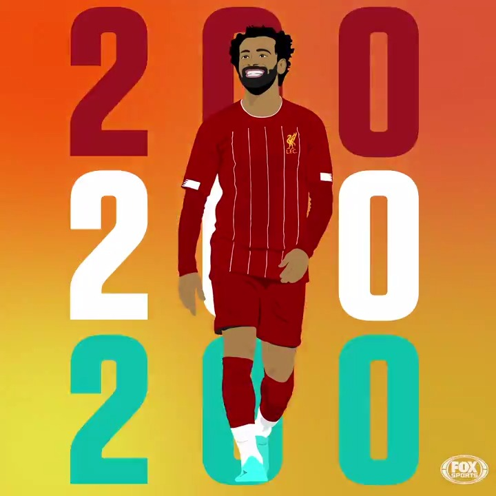 MO SALAH!! The Egyptian 👑 scores his 200th goal for club and country 👏👏