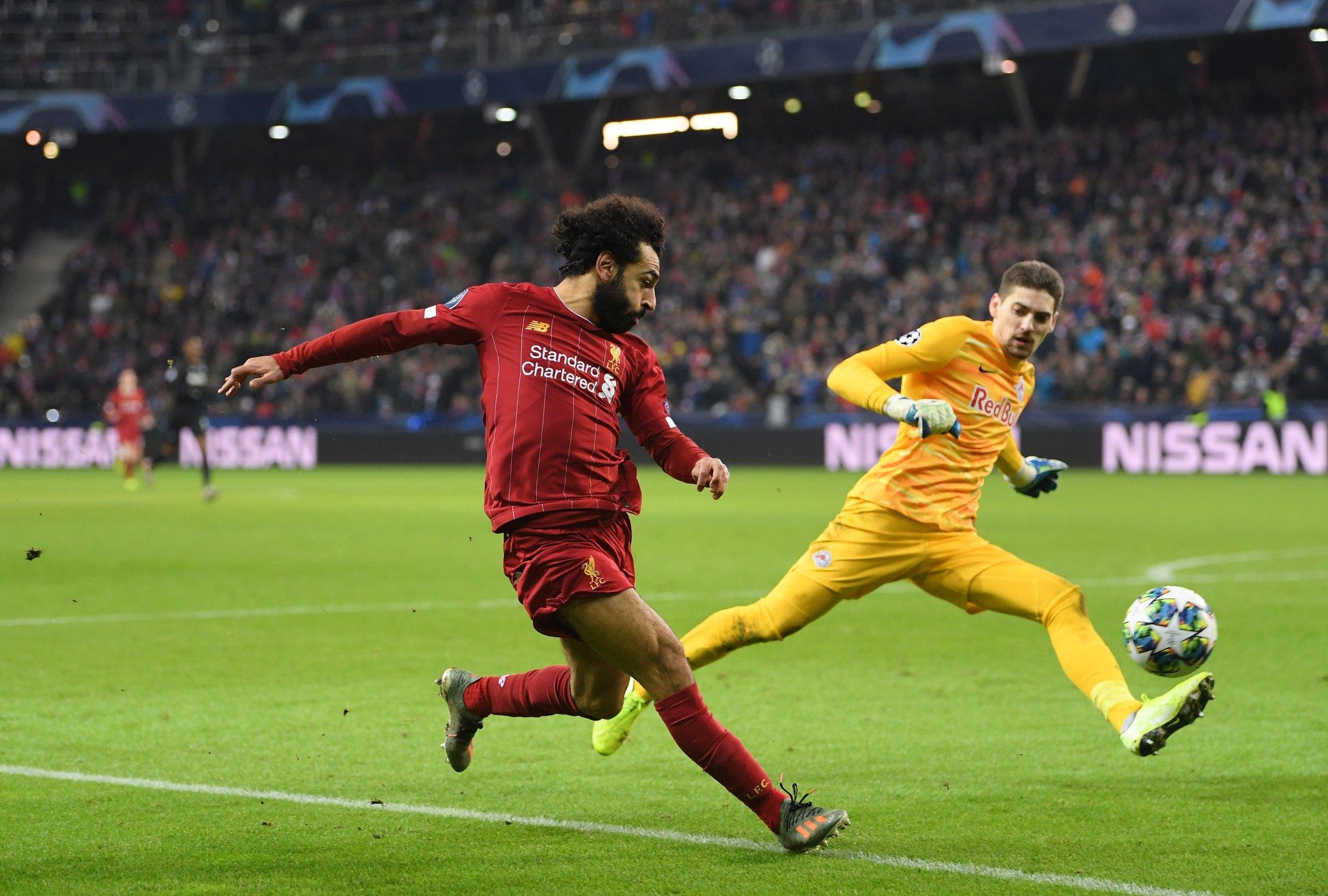 ليفربول يفوز على ريد بول سالزبورغ ويحسم تأهله الى دور الـ16 في دوري الابطال