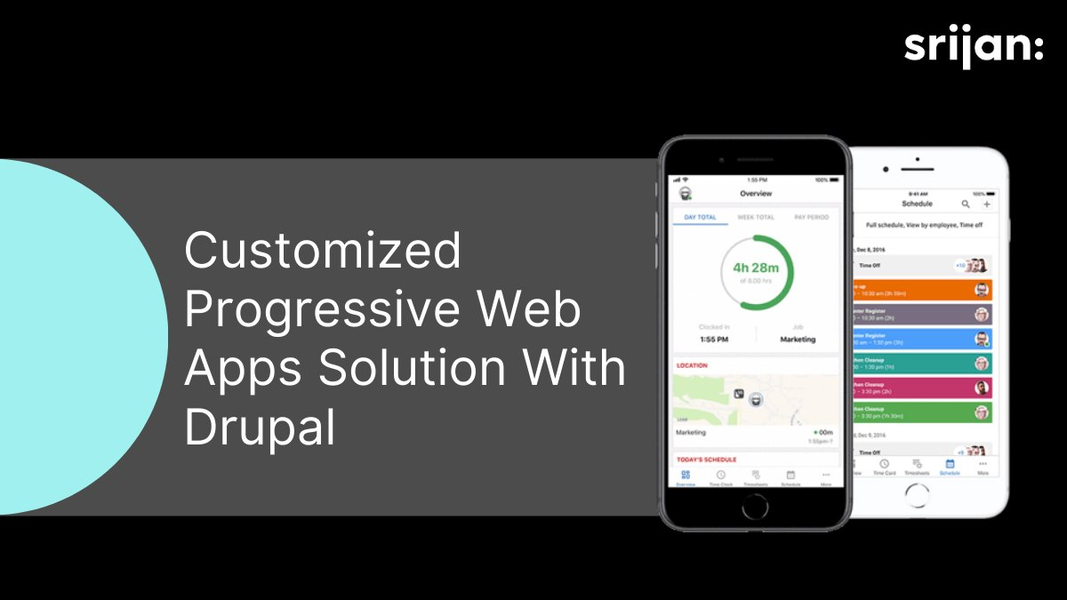 Looking for ways to get high customer engagement with a flawless experience as that of a #nativeapp? Read more to know how #Drupal can be a great platform for creating PWAs:  https:// hubs.ly/H0m9lKk0     #progressivewebapps<br>http://pic.twitter.com/UEbUgP8eRk