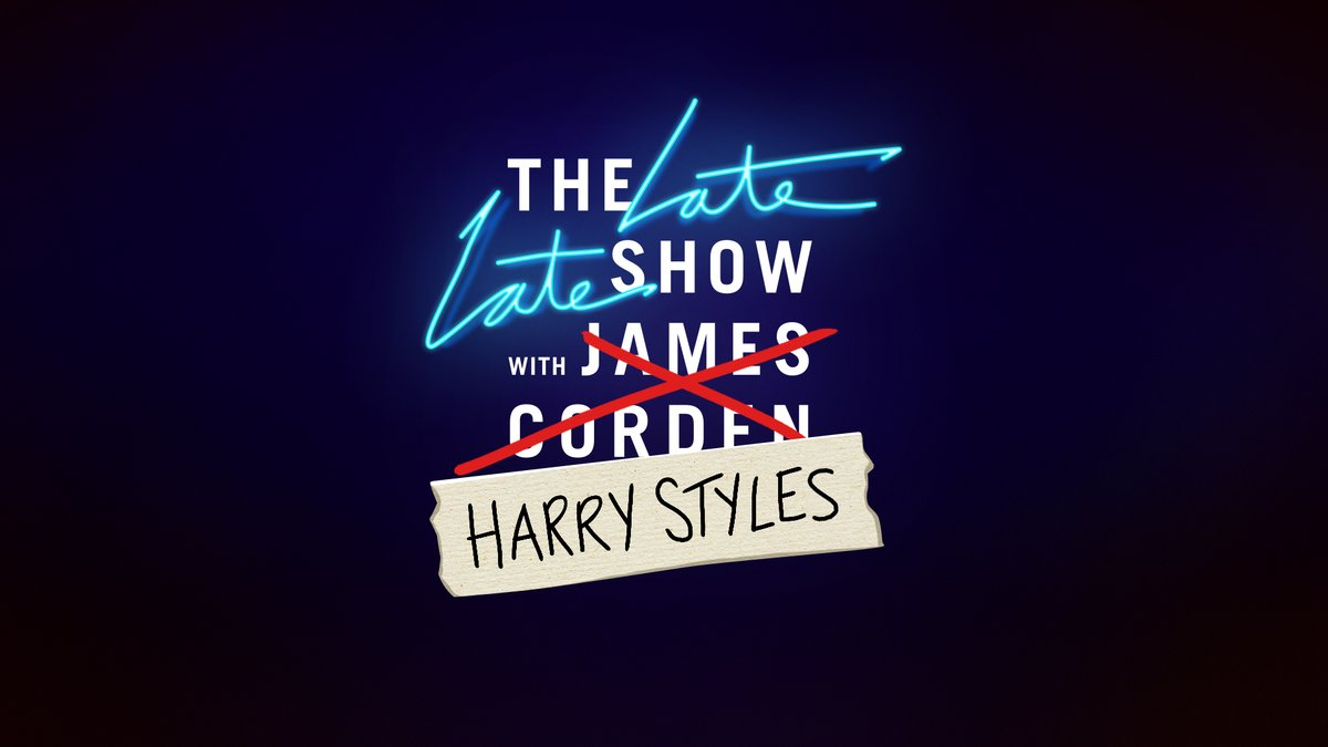 Tune into the @latelateshow tonight as Harry hosts and performs. #HarryHostsLateLate