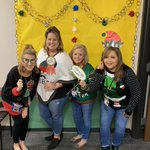 Image for the Tweet beginning: Ugly sweater day at the