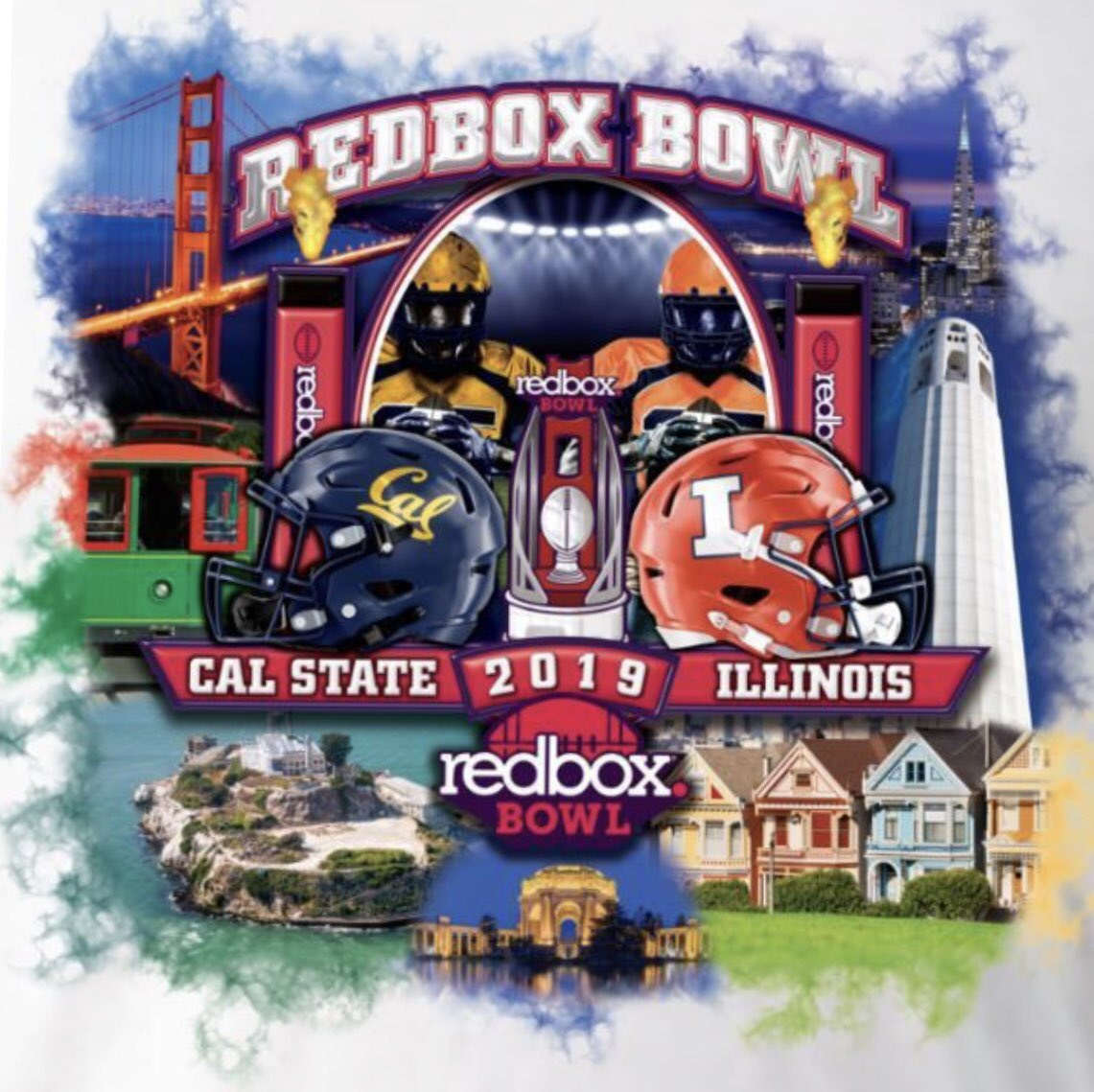 Cal football: Redbox Bowl makes embarrassing mistake on T-Shirts