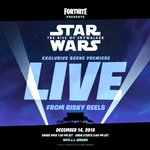 Don't Skywalk...skyRUN to this #StarWarsTheRiseOfSkywalker exclusive scene premiere LIVE in @FortniteGame on December 14th!