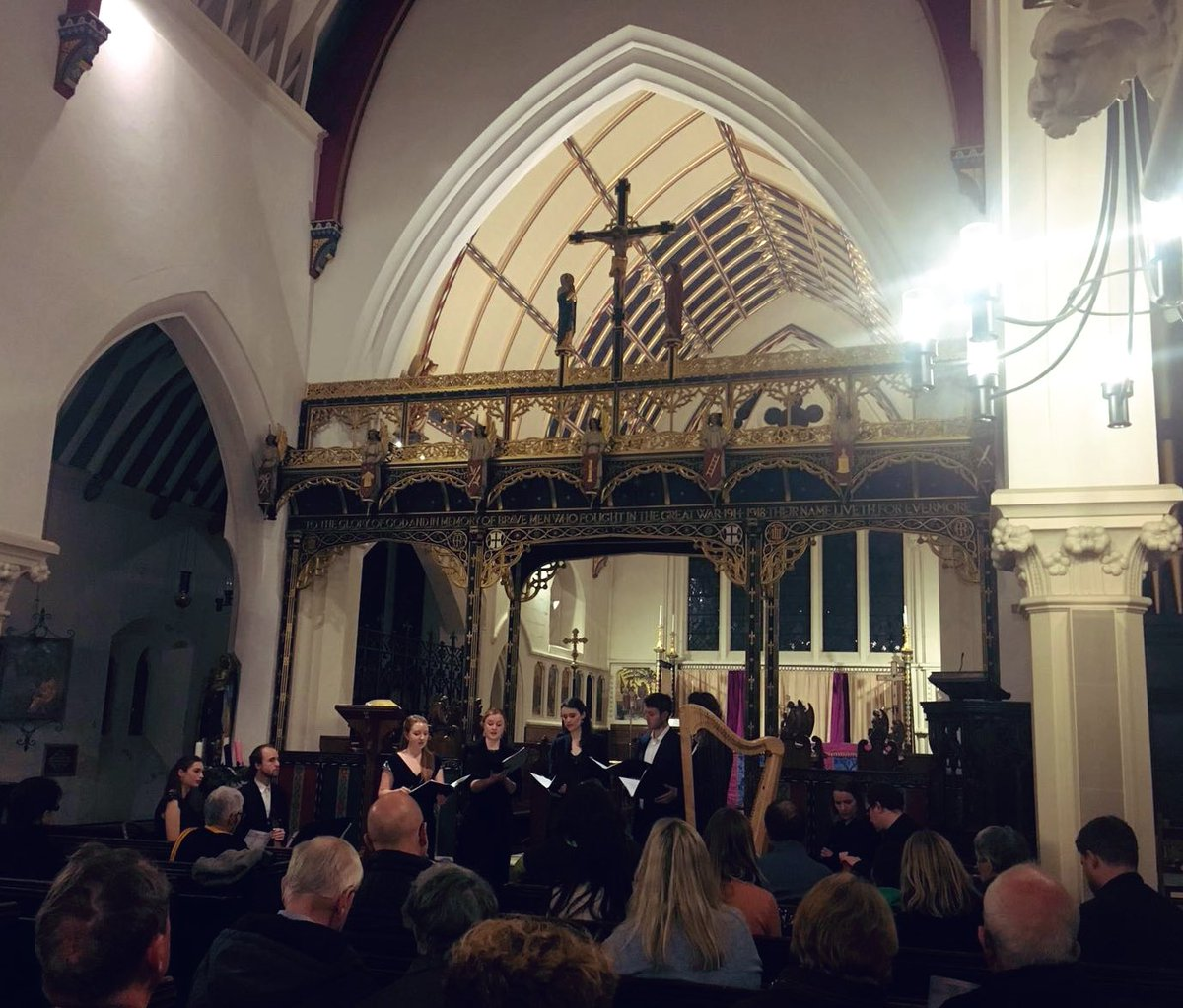Thank you to everyone who came along to our concert tonight in Blackheath! Looking forward to a repeat performance tomorrow in York @yorkearlymusic #Kapsperger #shepherdsofbethlehem https://t.co/peZy3UjxzI