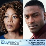 Image for the Tweet beginning: TONIGHT: @alfrewoodard and @aldishodge join