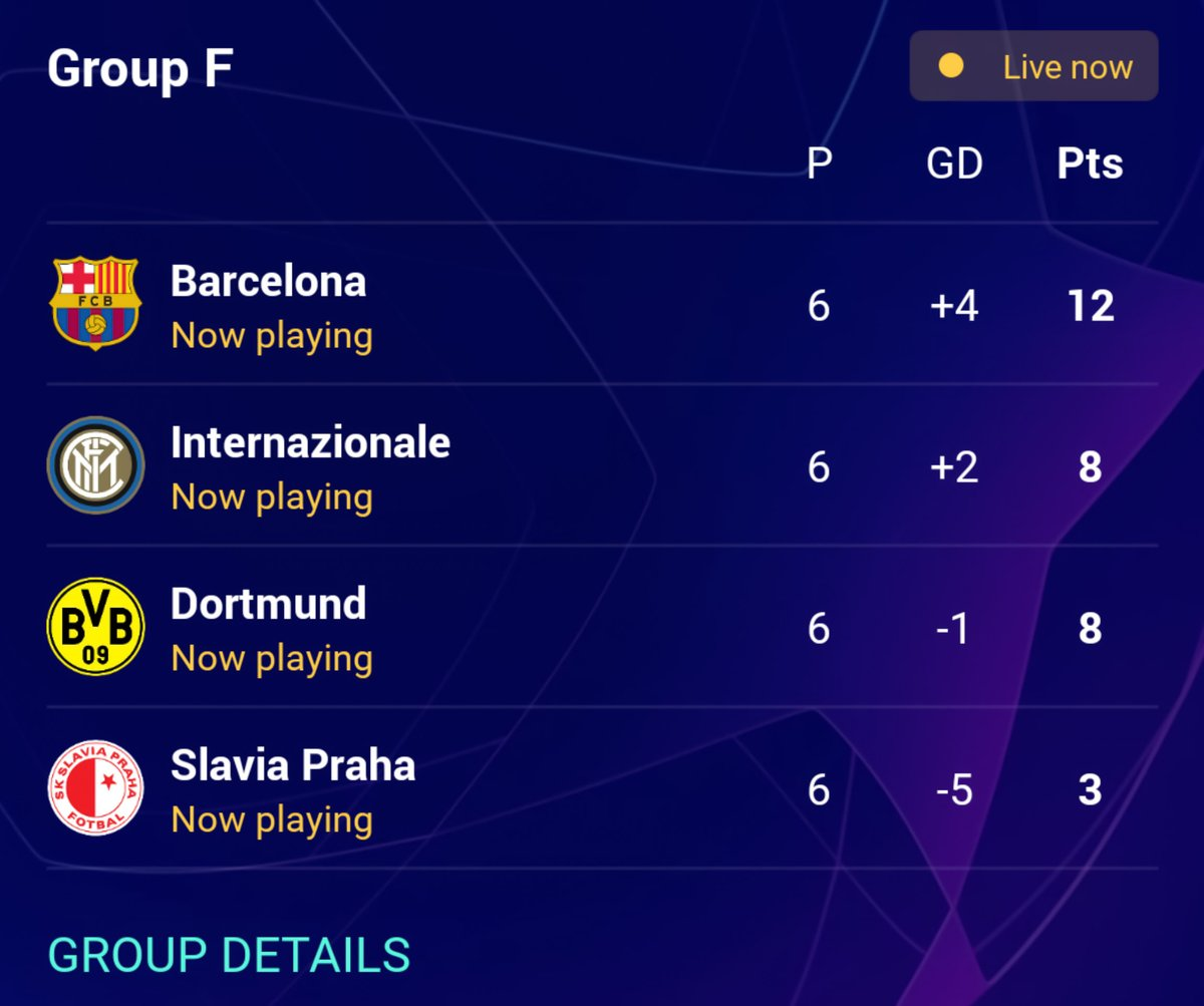 Download Uefa Champions League Standings 2019