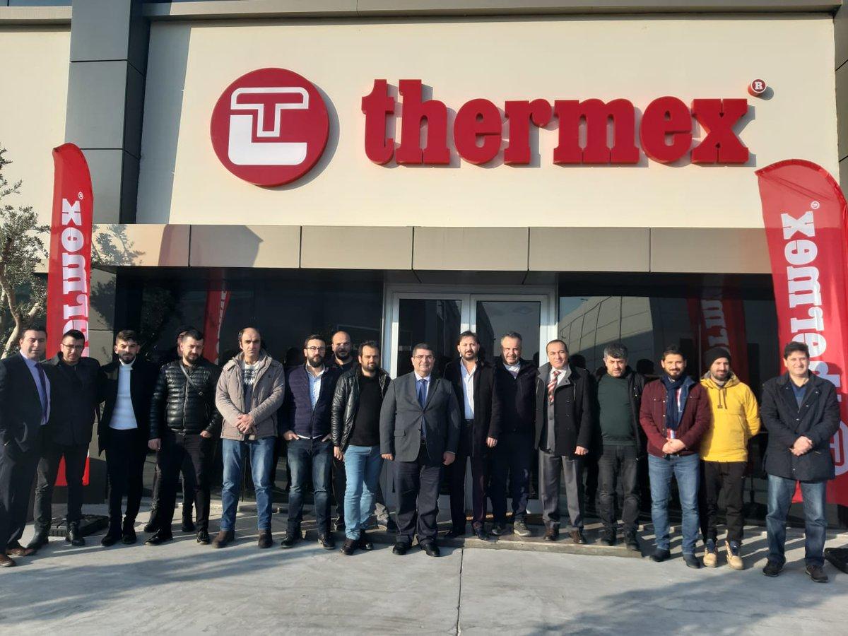 Thermex ailesi olarak Eskişehir'den gelen bayilerimizi fabrikamızda ağırladık, ürünlerimizi tanıtarak, üretim sürecimiz hakkında bilgiler paylaştık. #Thermex  #kombi  #İzmir