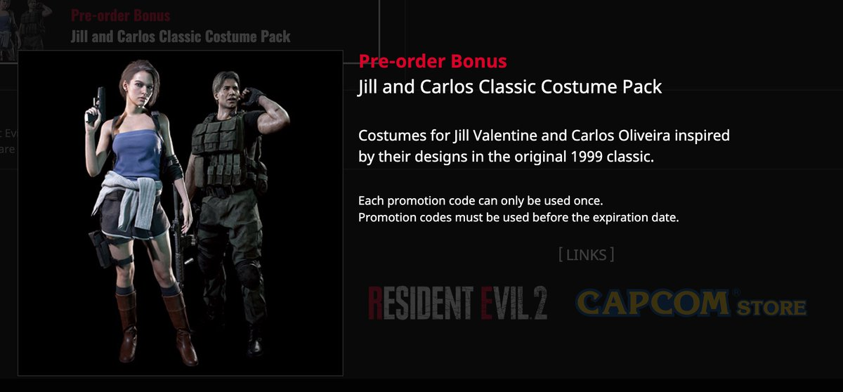Where S Barry On Twitter If You Preorder Residentevil3remake It