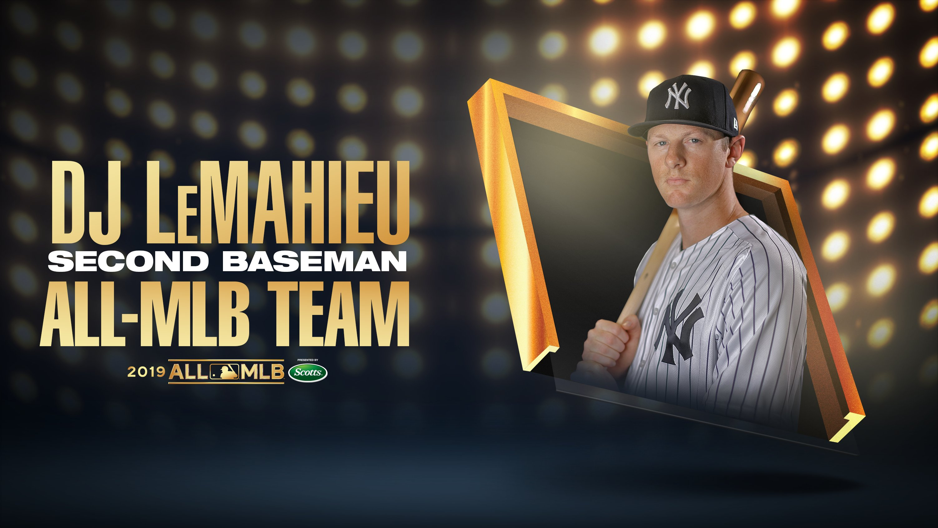 DJ LeMahieu and Aroldis Chapman named to All-MLB Team