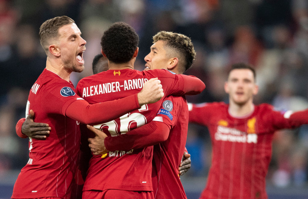 Defending champions Liverpool are through to the #UCL last 16 as they beat RB Salzburg. More here ➡️http://bbc.in/2P7sM2s
