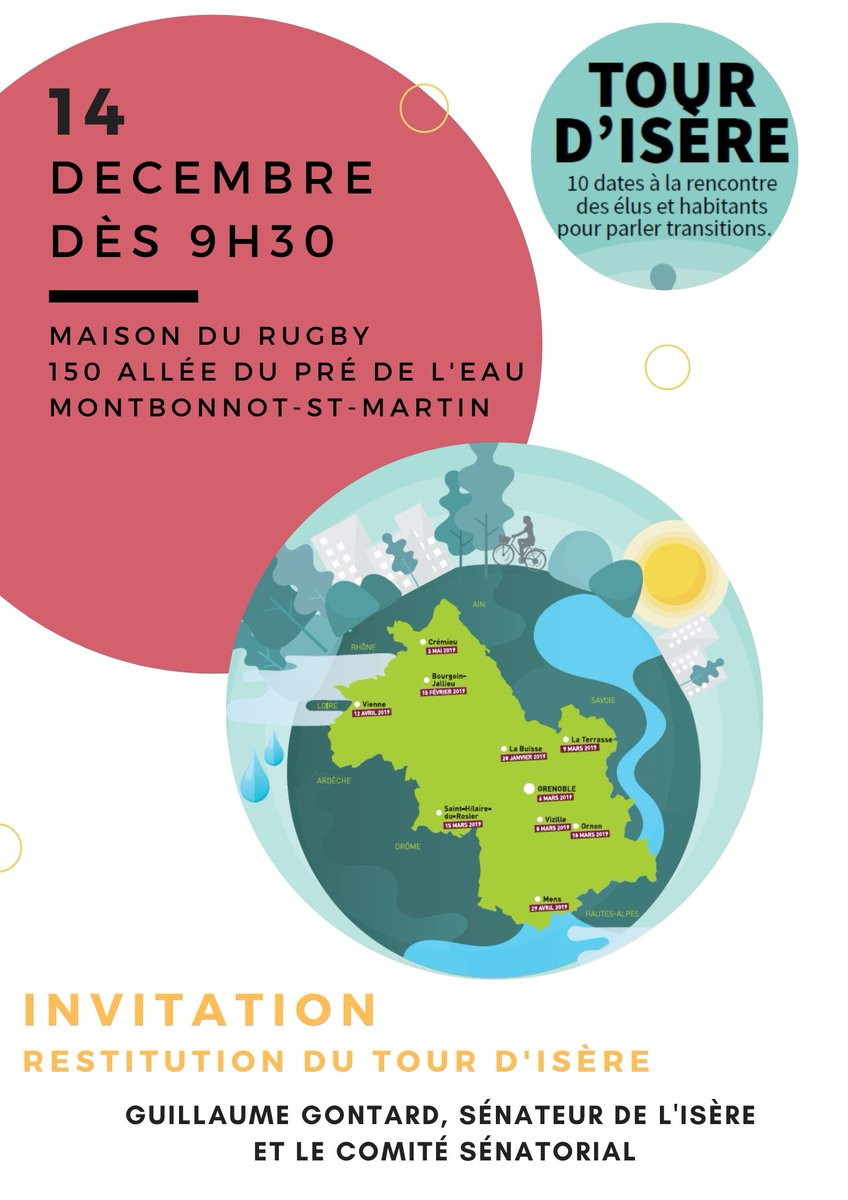 C'est demain samedi 09h30 à Montbonnot #TourdIsere