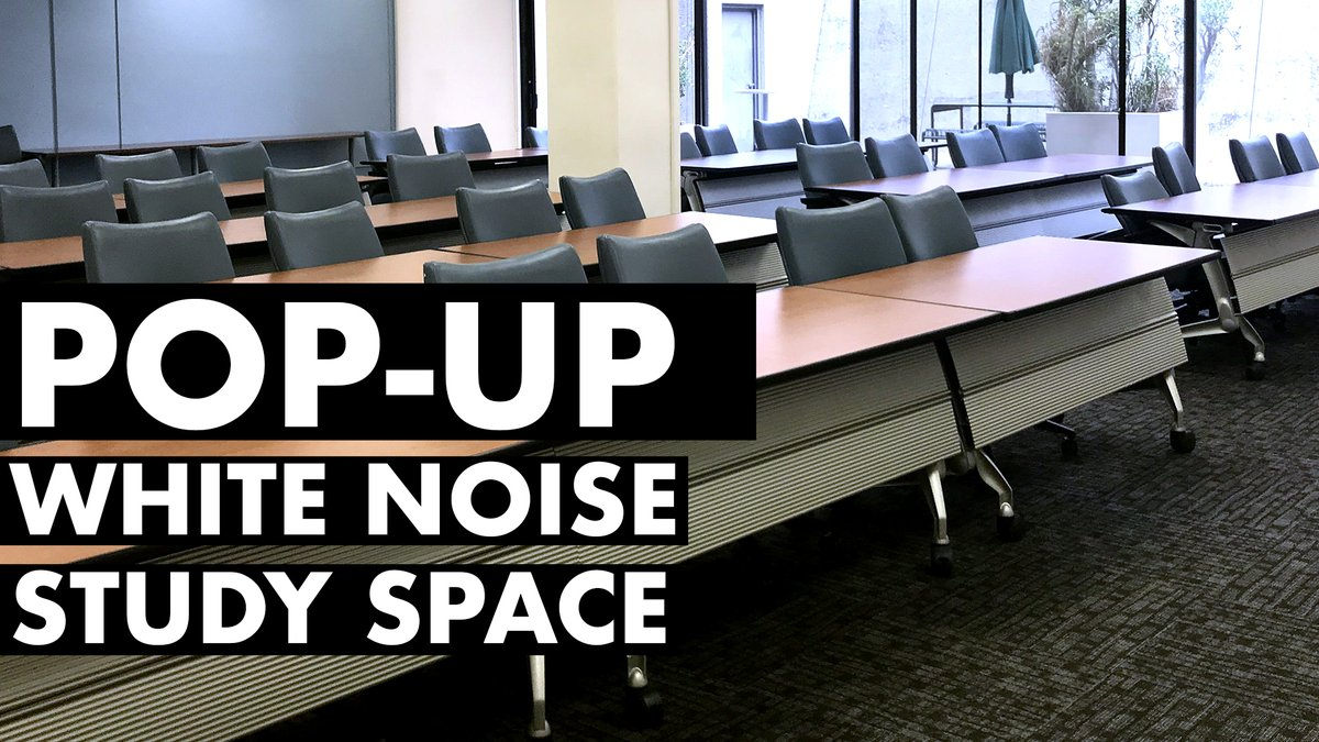 Cal State La University Library On Twitter Need More Quiet Study Space The Community Room In The Library B131 Is Open And We Ll Be Broadcasting White Noise Which Studies Have Shown Helps