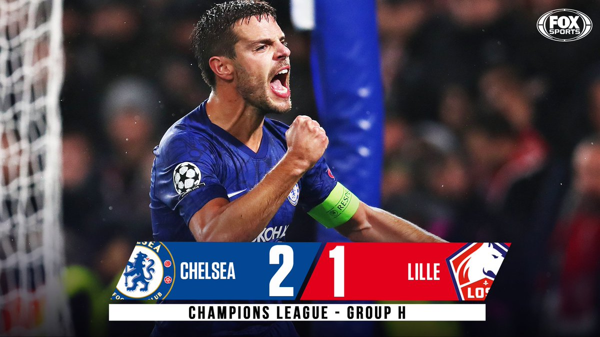 Chelsea are through! The Blues advance out of Group H and into the Round of 16 along with Valencia, whove knocked out Ajax!