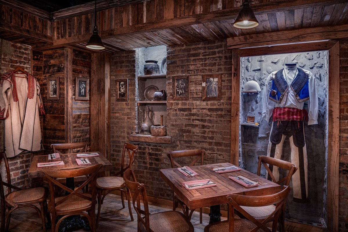 Step inside and you're in an old village tavern somewhere in Albania or Kosovo. Albanian restaurant Cka Ka Qellu in the Bronx makes it on the list of New York's Top 10 New Restaurants of 2019 on the @nytimes 🇦🇱🇽🇰 nytimes.com/2019/12/10/din…
