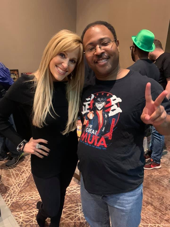 @LilianGarcia Ah, Lilian Garcia, you are still gorgeous. Such an honor to meet you, and thanks for sharing the info on your podcast with me. I look forward to checking it out! https://t.co/vlQmX4x3Ui
