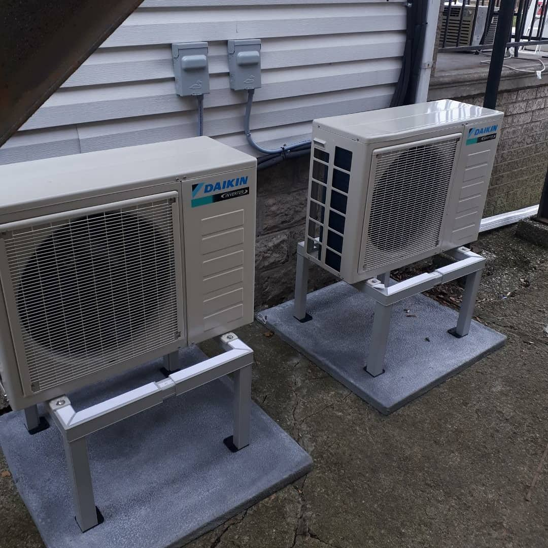 New Daikin ductless heat pump  #mastros  #mastrohvac  #windsor  #yqg  #heatingandcooling  #hvacpros  #hvac  #heat  #cool  #daikin