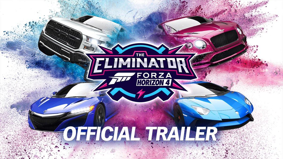 Forza Horizon 4e 72 kişiyi destekleyen Battle Royale modu geldi.