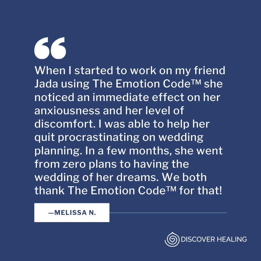 Trapped emotions can seriously impact your ability to get things done!  #discoverhealing #energyhealing #theemotioncode #thebodycode #energy #healing #meditation #wellness #spiritualdevelopment pic.twitter.com/S4V0MqjsTP