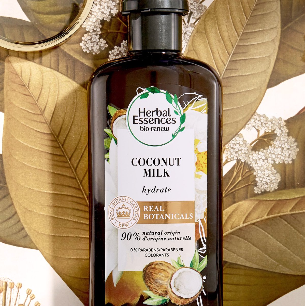 Deep hydration, enchanting fragrance, and real botanicals endorsed by  the Royal Botanic Gardens, Kew @KewGardens, what more could you ask for? 🥥 #HerbalEssences #PlantPowerInEveryShower https://t.co/vJP4AjoDG8