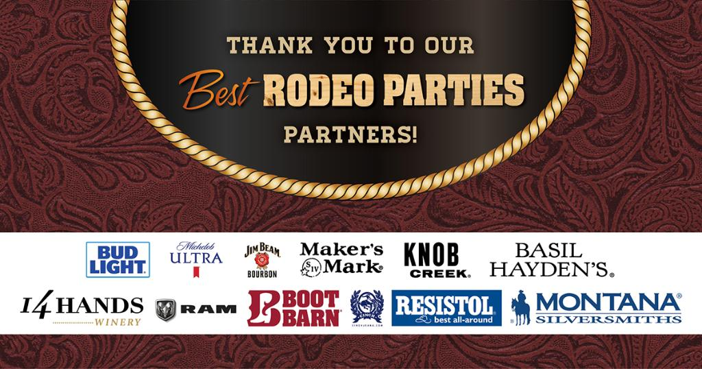 Can you believe we are halfway through the #NFR? We would like to take the time to thank our amazing Best Rodeo Parties Partners. We wouldn't be able to put on our amazing rodeo events at the @orleanscasino without them! https://t.co/0jXWcwKfZK