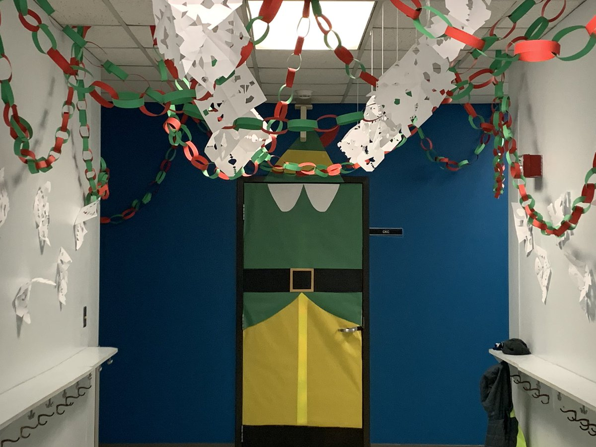 A Pod is a bit festive, don't you think? Loving the student work on display!